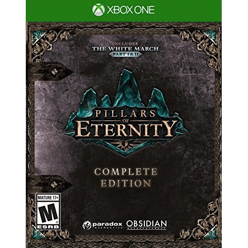 Pillars of Eternity: Complete Edition Xbox One - For Xbox One - ESRB Rated M (Mature 17+) - Role play - Tactical combat - Inlcudes all PC content