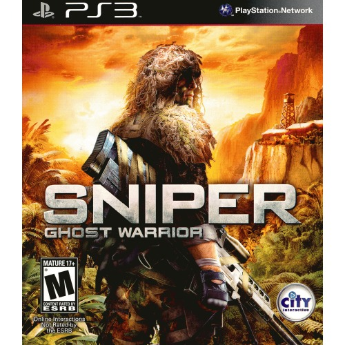 Sniper: Ghost Warrior PS3 - For PlayStation 3 - ESRB Rated M (Mature 17+) - Aid the rebels - Exclusive PS3 content - Non-linear game play
