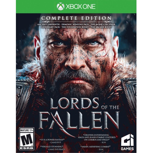 Lords of the Fallen Complete Edition Xbox One - For Xbox One - ESRB Rated M (Mature 17+) - Redemption - Supernatural skills - Fighting game