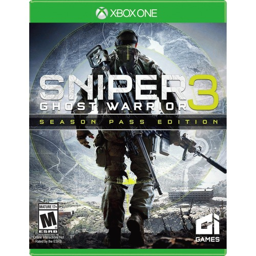 Sniper: Ghost Warrior 3 Season Pass Edition Xbox One - For Xbox One - ESRB Rated M (Mature 17+) - Military shooter - Non-linear play - Multi/single player