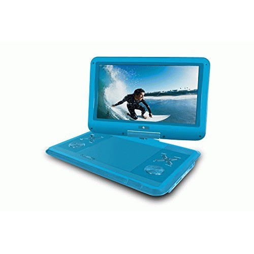 "Ematic EPD121BU Portable DVD Player - 12.1"" Display - 1366 x 768 - Blue"