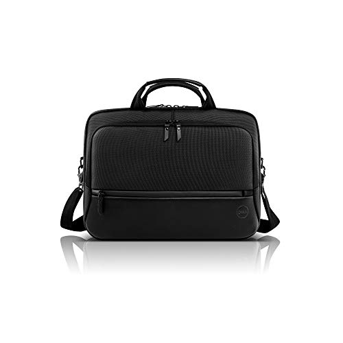 """Dell Premier Carrying Case (Briefcase) for 15"""" Notebook - Black"""