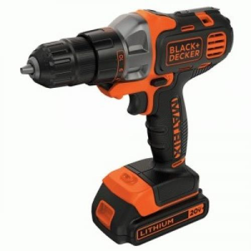BLACK+DECKER 20-Volt Max Lithium-Ion Matrix Drill/Driver-BDCDMT120C