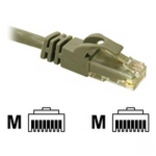 C2G 31340 Cat6 Cable - Snagless Unshielded Ethernet Network Patch Cable, Gray (5 Feet, 1.52 Meters)